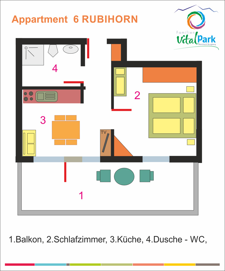 Rubihorn Appartment Grundriss Allgaeu